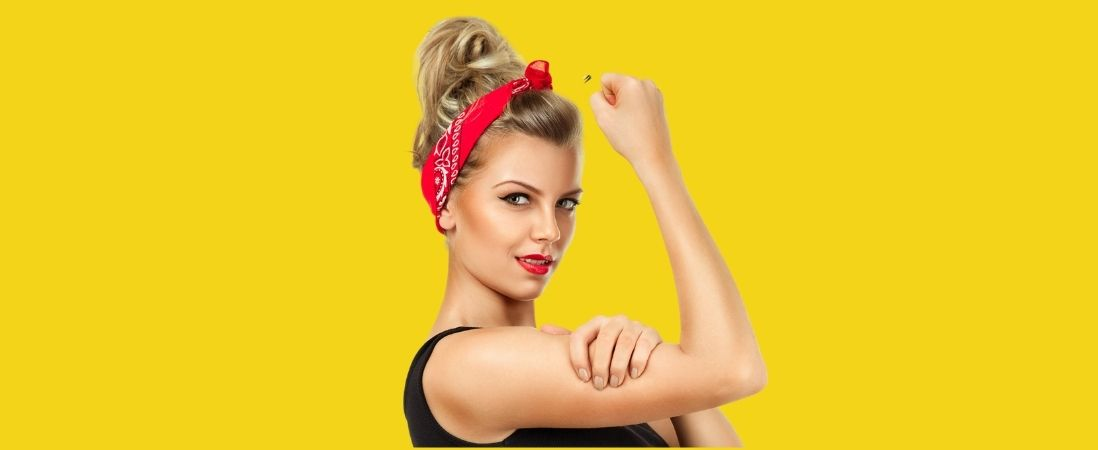 Rise-UP and be woman of confidence