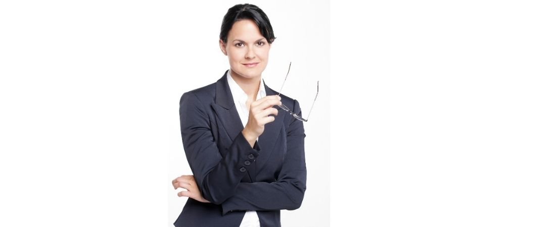 confident successful woman in busness