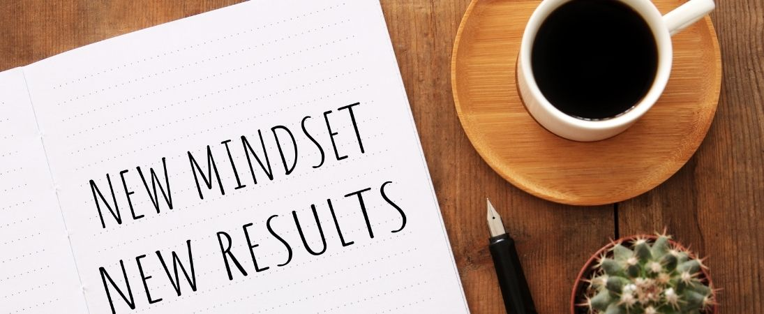 new mindset new result quote