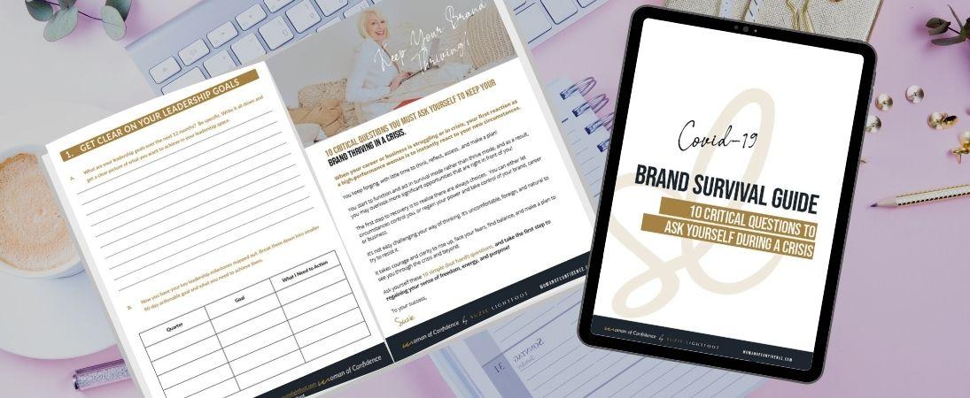 Coronavirus Personal Brand Worksheet