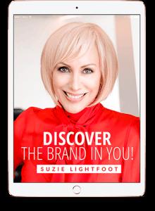 Suzie Lightfoot Brand Image in ipad