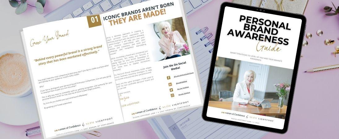 Personal Brand Awareness Guide Download Banner